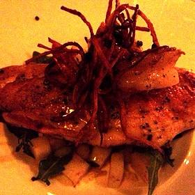 Gulf Fish With Shrimp