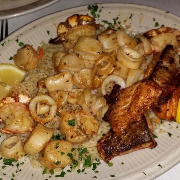 Seafood Bruschetta - The Greek Kitchen, New York, NY