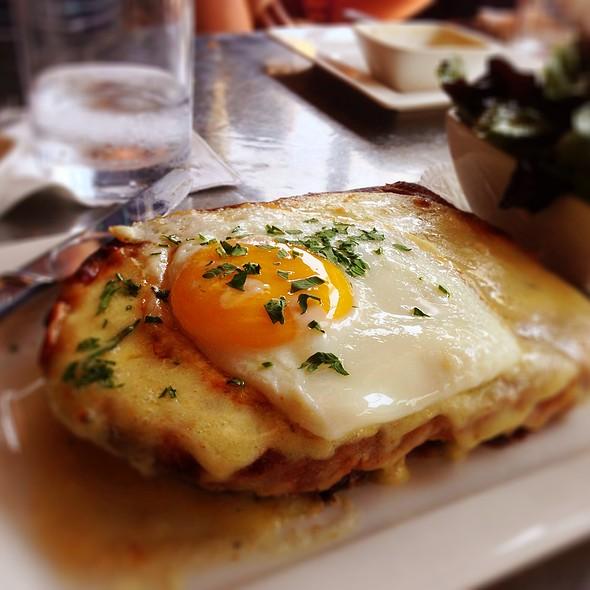 Croque Madame @ Coquine Restaurant