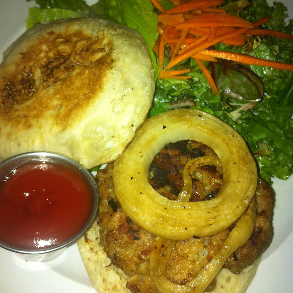 Turkey Burger - The Madison Bar and Grill, Hoboken, NJ
