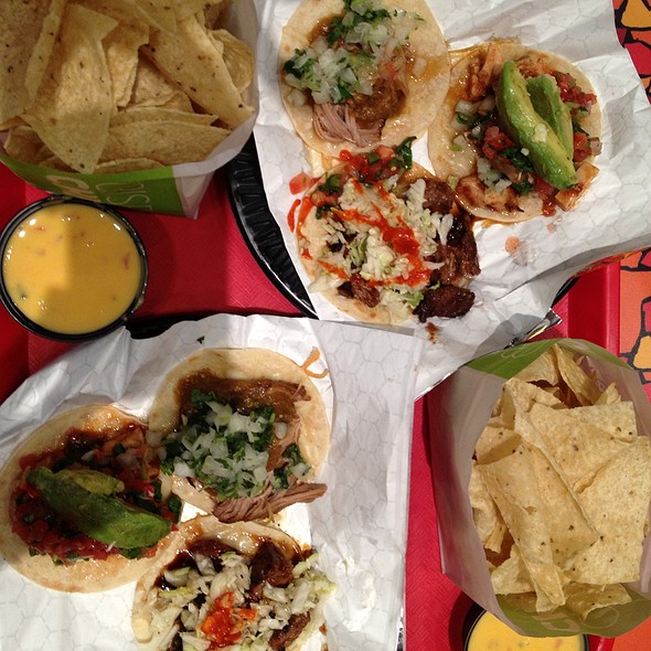 street tacos @ California Tortilla