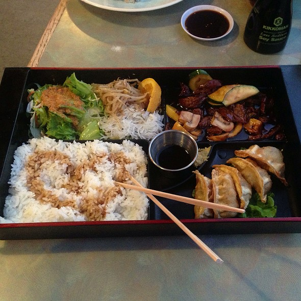 Bento Teriyaki Beef & Katsu  @ Ichiban