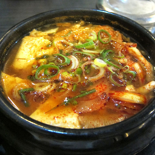 Spicy Tofu Soup @ Todamgol