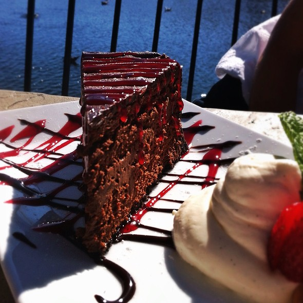 Chocolate Cheesecake - Paradise Beach Grille, Capitola, CA