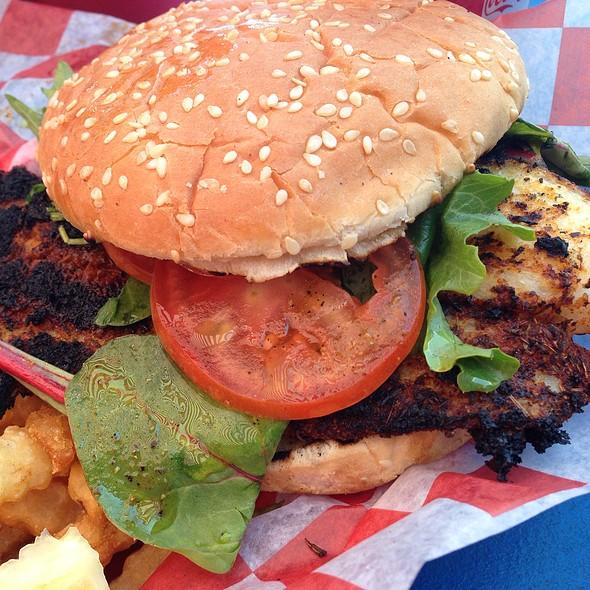Blackened Fish Sandwich @ Crabby Rick's Shore Shack