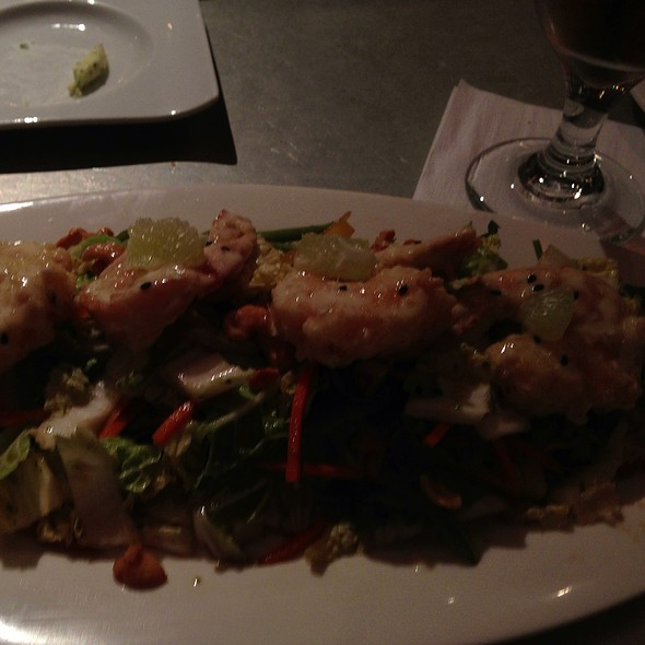 Shrimp Chopped Salad - Rats Restaurant - Grounds for Sculpture, Hamilton, NJ