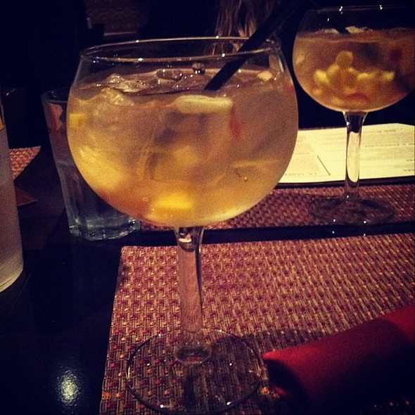 White Sangria - Cantina Southwest Grill & Tequila Bar, Stamford, CT