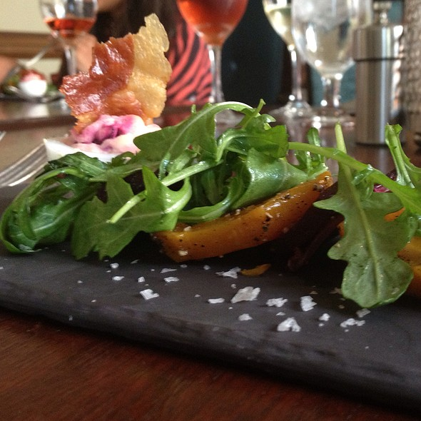 Roasted Beet With Deviled Egg Salad @ Marchand's Bar and Grill: At Renaissance Vinoy Resort