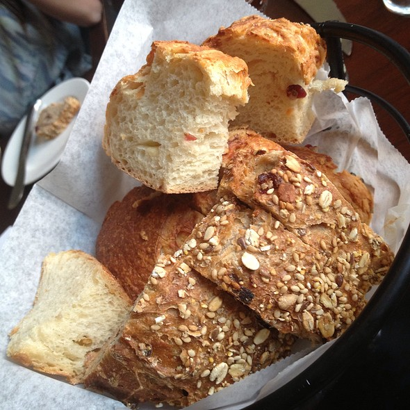 Fresh Made Artisanal Bread With Herbed Butter @ Marchand's Bar and Grill: At Renaissance Vinoy Resort