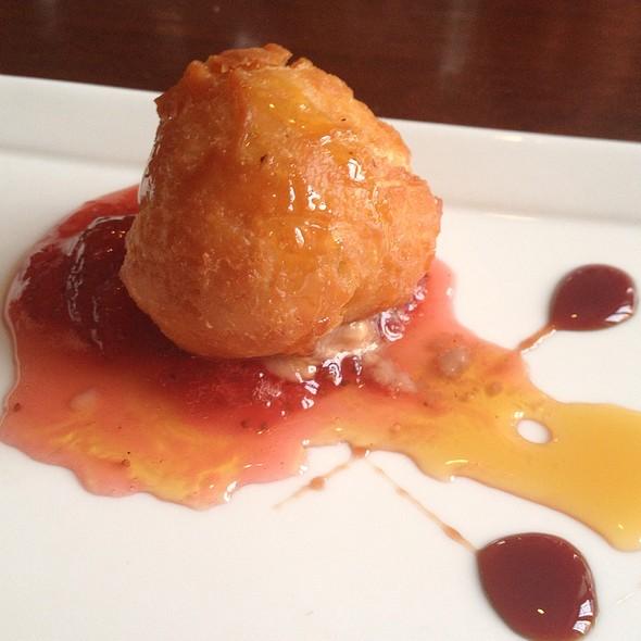 Foie Gras Beignet @ Marchand's Bar and Grill: At Renaissance Vinoy Resort