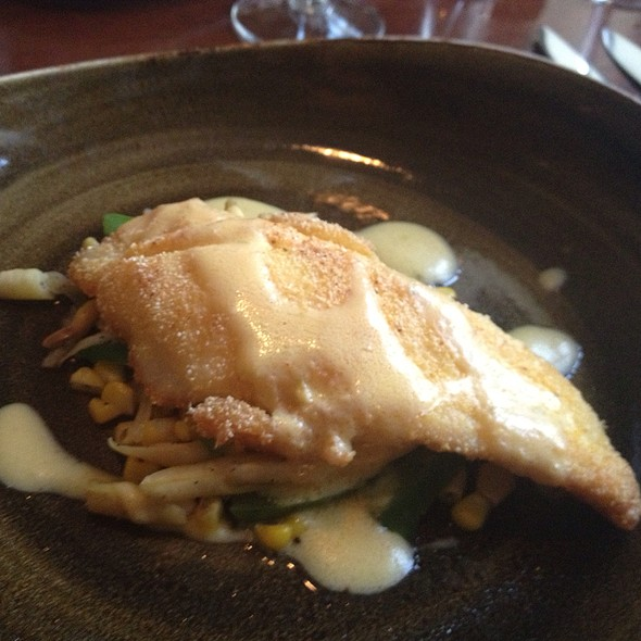 Corn Meal Crusted Flounder @ Marchand's Bar and Grill: At Renaissance Vinoy Resort