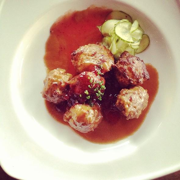Swedish Meatballs @ Bistro La Bon
