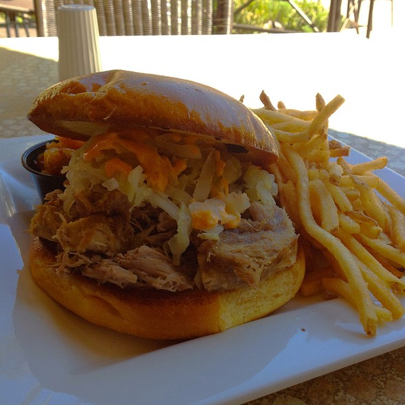 Kaluha Pork Sandwich @ Kahunaville Island Restaurant & Party Bar