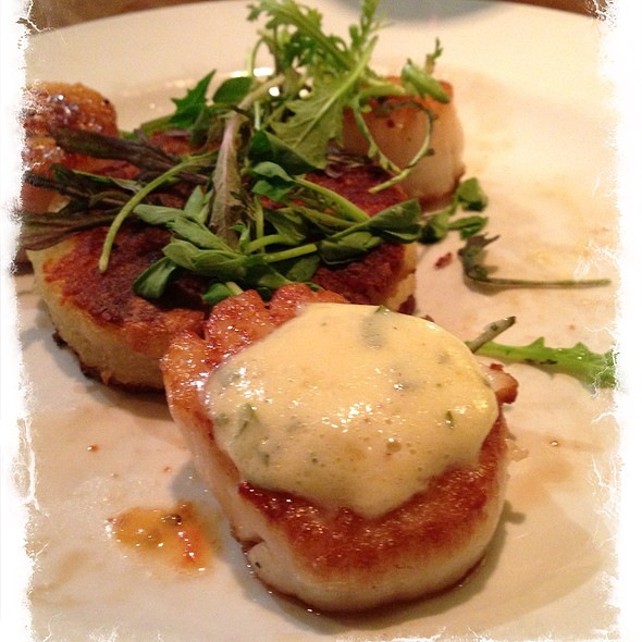 Scallops - The Rail Stop, The Plains, VA
