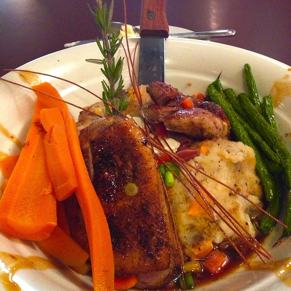 Chili Crusted Duck Breast @ Hash House A Go Go