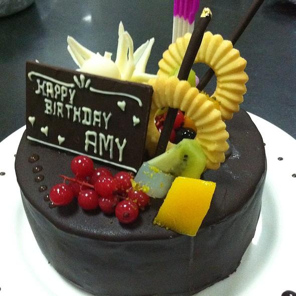 Birthday cake @ Parkyard Hotel Shanghai