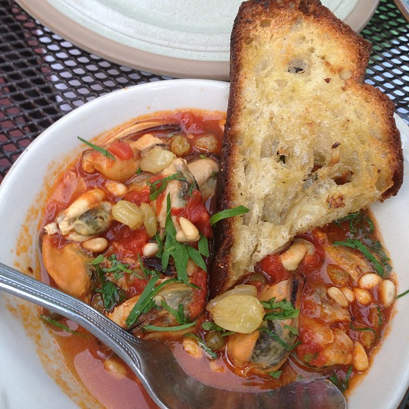 Mussels With Beans And Grilled Bread. - Il Casale - Belmont, Belmont, MA