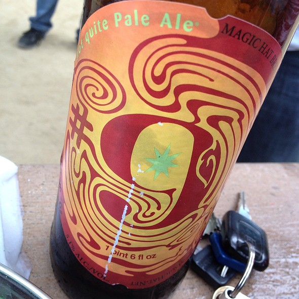 Magic Hat Not Quite Pale Ale @ Lake Elizabeth Park