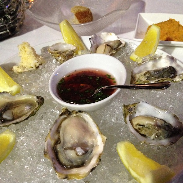 Oysters! - Blue Water Cafe, Vancouver, BC