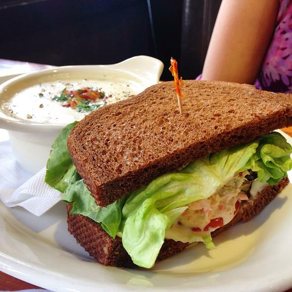 Tuna salad sandwich - Lumberyard, Laguna Beach, CA