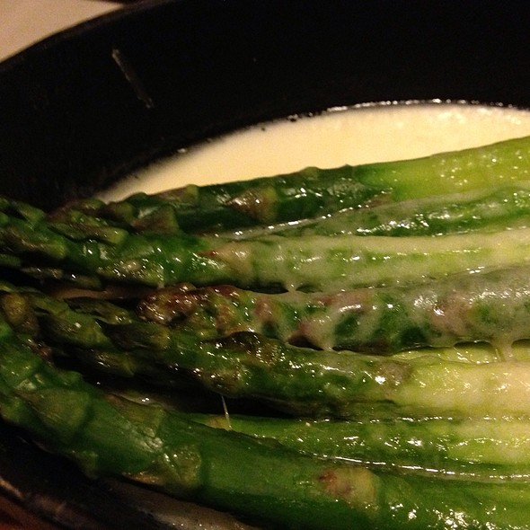 Asparagus with Parmesan - Dawson's - Hyatt Regency Sacramento, Sacramento, CA