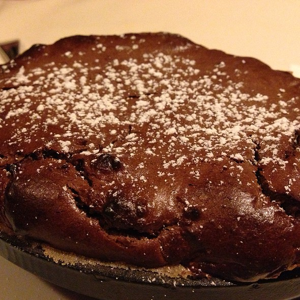 Chocolate Souffle - Dawson's - Hyatt Regency Sacramento, Sacramento, CA
