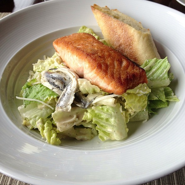 Salmon Caesar Salad - Sunset Terrace - Omni Grove Park Inn, Asheville, NC