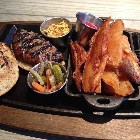 Lamb Burger @ MP Taverna