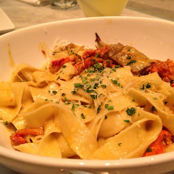 Lobster Tagliatelle - Todd English at The Plaza Food Hall, New York, NY