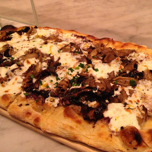 Fungi & Olive Pizza - Todd English at The Plaza Food Hall, New York, NY
