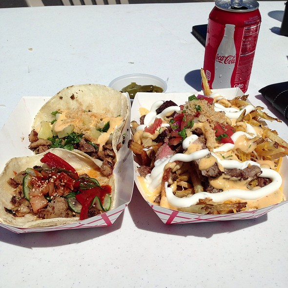 Taco Trio And Cheat Day Fries