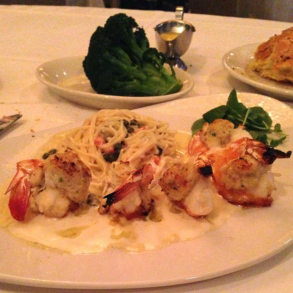 Baked Stuffed Jumbo Shrimp - Morton's The Steakhouse - New Orleans, New Orleans, LA