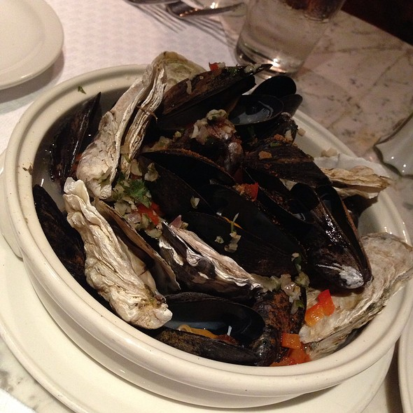 Steamed Oysters And Mussels - Sea Catch, Washington, DC