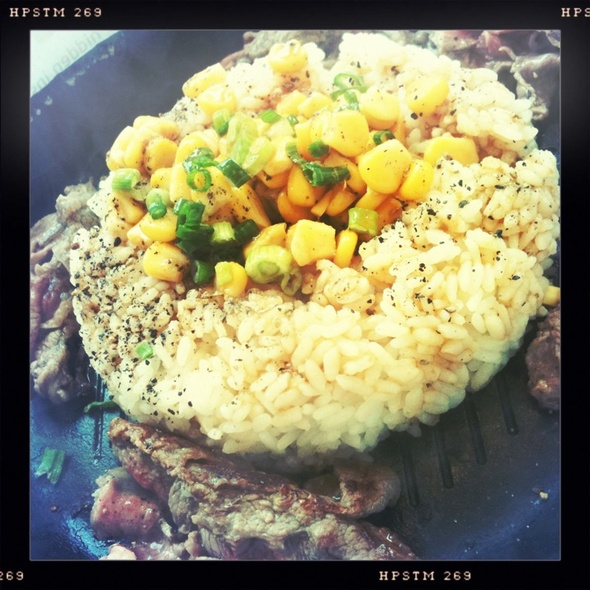 Beef Pepper Rice @ Pepper Lunch - Imm Building
