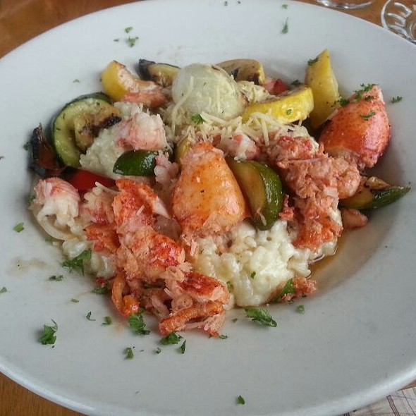 Lobster Risotto @ Flying Goose Brew Pub