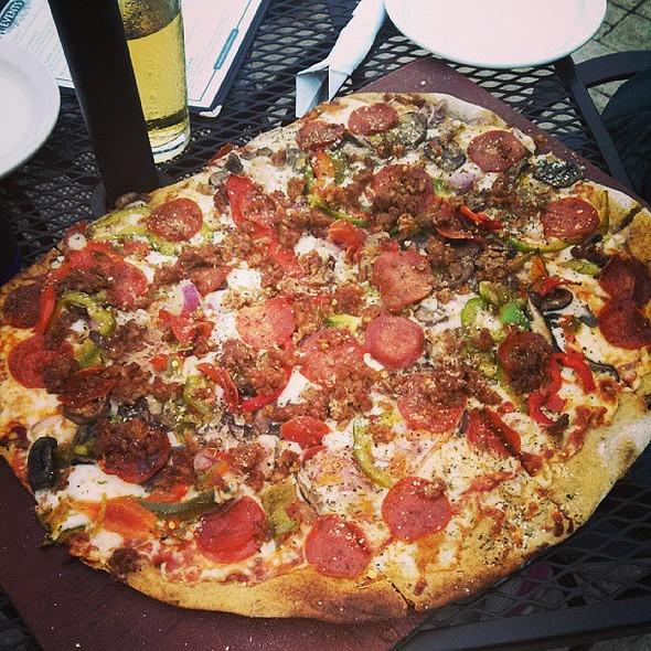 Supreme Pizza. @ Blue Mountain Brewery & Hop Farm