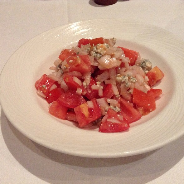 Chopped Tomato & Onion Salad @ The Palm Restaurant