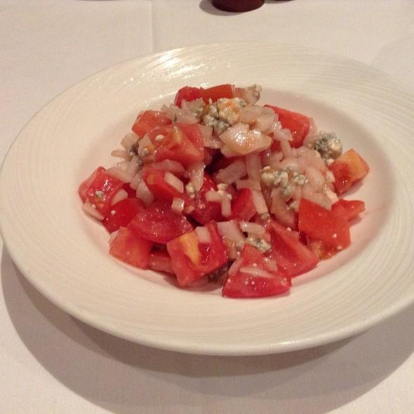 Chopped Tomato & Onion Salad @ The Palm Restaurant