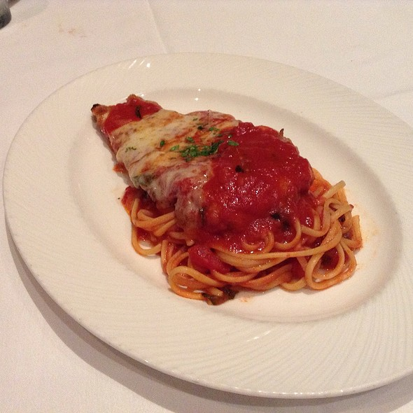 Chicken Parmesan @ The Palm Restaurant