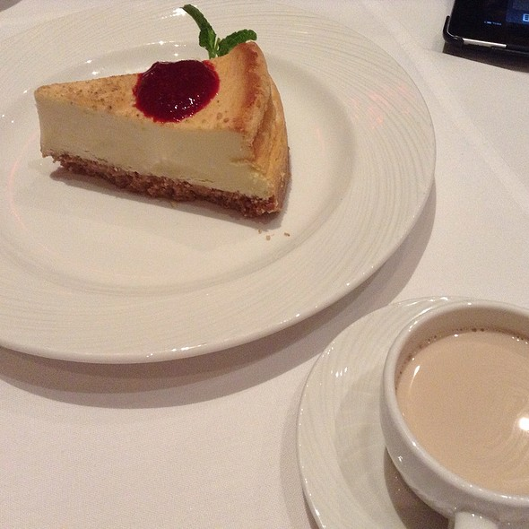 New York Cheesecake @ The Palm Restaurant