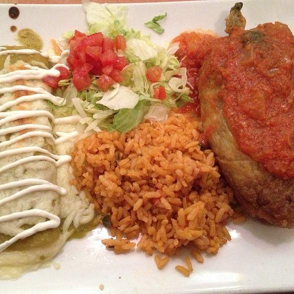 Chile Relleno - La Fonda on Main, San Antonio, TX