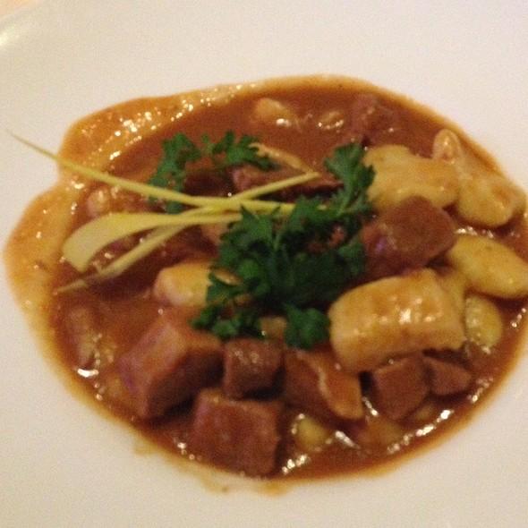 Veal & Gnocchi Stew @ Dubrovnik Restaurant