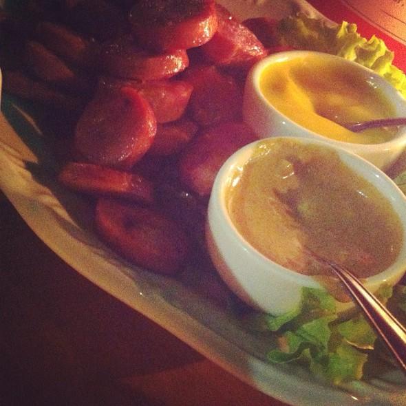 Salsichão Weisswurst @ Restaurante Casa Bela Café