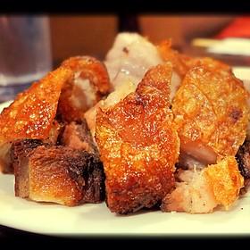 Crackling Roast Pork - Side Street Inn Kapahulu, Honolulu, HI