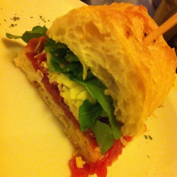 Sanduiche De Carpaccio @ Desfrutti