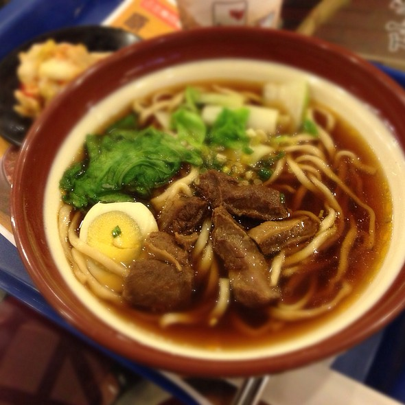 Beef Noodles @ Houbi District
