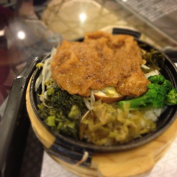 Braised Fried Pork Chop Over The Rice @ Houbi District