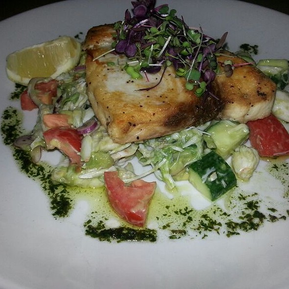 Swordfish Special With Lump Crabmeat