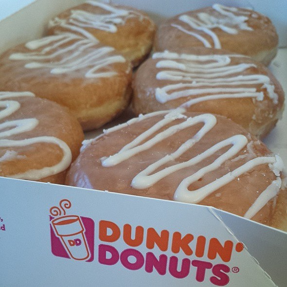 Guava Burst Donuts @ Dunkin Donuts
