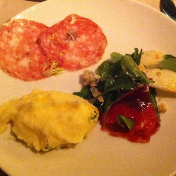 Parmar Ham Salad + salami & Mash @ Millennium Hilton Bangkok